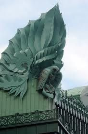 Harold Washington Library (Chicago)...the owls stand for knowledge,