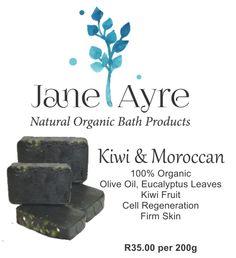 Kiwi & Moroccan 100% Organic Soap