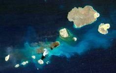 Lapislazzuli Blu: #Nate #due #isole #vulcaniche nel #Mar #Rosso  #Os...
