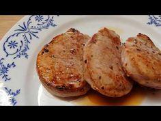 Vepřová panenka na medailonky (na minutku) - YouTube Ham, Zucchini, The Creator, Vegetables, Youtube, Roast Beef, Hams, Vegetable Recipes, Youtubers