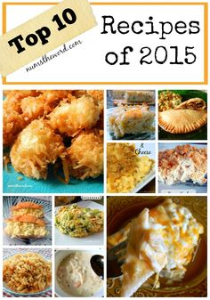 If you are a fan of all things delicious, then check out Num's the Word's Top 10 Recipes in 2015. They are all winners with our taste buds and families!