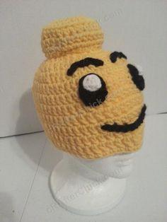 Lego Man Character Hat Crochet Pattern (6)