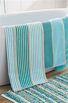 Dark Turquoise Wavey Stripe Towels Pattern Home Furniture Bath Towel Ideas Pinterest Web And Patterns Fl