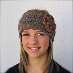 adjustable ear warmer headband crochet pattern