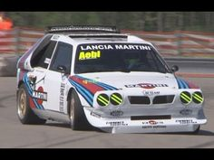 Ride onboard the ultimate rallycar of all time: The infamous, turbocharged & supercharged Lancia Delta Onboard sound captured with professional external . Audi 1, Lancia Delta, Cars Series, Audi Sport, Rally Car, Evo, Cars And Motorcycles, Race Cars, Racing