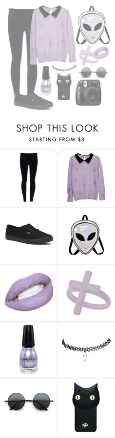 """""""  Pastel grunge  """" by galaxycat23 ❤ liked on Polyvore featuring Vans, Miss Selfridge, Wet Seal, Retrò and Valfré"""