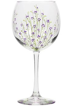 patterns for painting wine glasses - Google Search