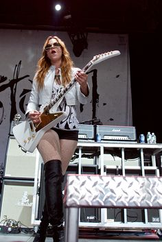 Awesome action photographs of Halestorm rocking MMRBQ