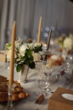 Sinclair & Moore's Elegant Washington Wedding from Michele M. Waite - wedding centerpiece idea