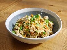 Chicken Cauliflower Fried Rice recipe from Katie Lee via Food Network