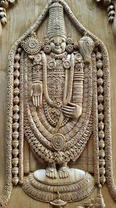 Travels One Day Tirupati Tour Package Indian Gods, Indian Art, Lord Murugan Wallpapers, Lord Ganesha Paintings, Pooja Room Door Design, Lord Balaji, Wooden Door Design, Wood Carving Designs, Tanjore Painting