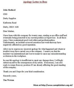 apology letter to boss for not showing up letters on cover letters simple and 29088 | fedad426142c4f82c4560c99846b6c55