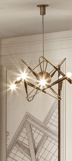 Pendant Lighting | Plated Antique Brass | Satin Black | Made in LA | Custom Made by iWorks