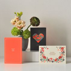 Greeting cards designed by Haferkorn & Sauerbrey.