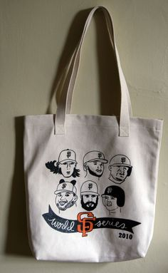 SF Giants Tote Bag ~ I want this!