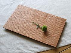 Cherry Ripple Plate by Tomokazu Furui at OEN Shop