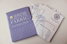 The Great British Sewing Bee: Fashion with Fabric pattern pack