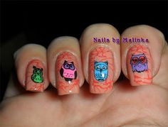 Uilen - Nails by Malinka