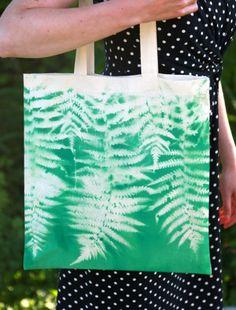 Botanical Print Tote Bag