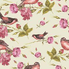"Norwall Wallcoverings Inc English Florals 32.7' x 20.5"" Butterfly Wallpaper   Wayfair"