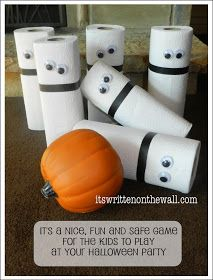 Easy game for kids for Halloween. A Ghostly Halloween Party Game Easy game for kids for Halloween. A Ghostly Halloween Party Game Source by meandmyinsanity Halloween Party Activities, Halloween Class Party, Halloween Birthday, Holidays Halloween, Halloween Kids, Halloween Crafts, Halloween Games For Preschoolers, Fall Carnival, Halloween Stuff
