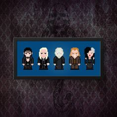 Harry Potter Cross Stitch Pattern  Voldemort by AmazingCrossStitch