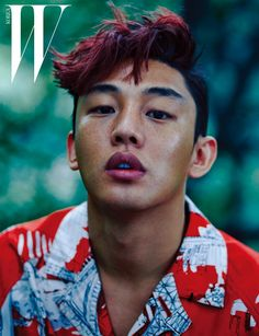 "Yoo Ah In Covers W Korea's ""The Hottest Men"" Issue 