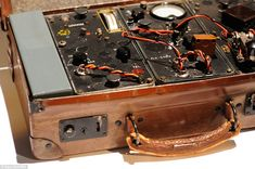 Frequency travellers: A Type B MkII suitcase radio used by two World War Two outfits - America's Office of Strategic Services (OSS) and Britain's Special Operations Executive (SOE)