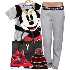 """""""Mickey Mouse"""" by oh-aurora on Polyvore"""