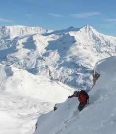 Off piste at Val d'Isere