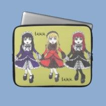 The Three Sisters Laptop Sleeve by Clearwillow Designs at zazzle.com $29.95