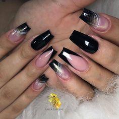 Gel Acrylic Nails, Classy Nails, Nailart, Manicure, Finger, Nail Designs, Make Up, Nara, Beauty