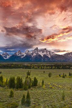 The Grand Tetons National Park