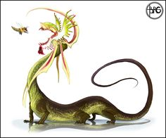 deviantART: More Like Chinese Crested Dragon by ~hellcorpceo