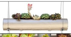 Cool DIY Indoor-Outdoor Modular Cylinder Planters As soon as I saw the Décor Fiori Cylinders, it was instant love. What do I love? T...