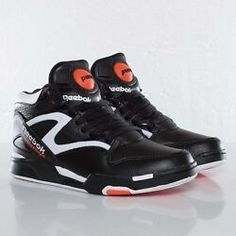 c2626064de29 Reebok Pump Omni Lite Dee Brown Retro Black Orange White Size 9. Style  J15298 Reebok
