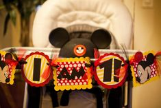 Mickey Mouse Birthday Party Ideas   Photo 10 of 36   Catch My Party