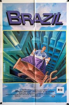 brazil US one sheet movie poster. Available to purchase from our website.