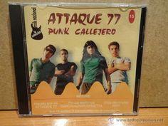 ATTAQUE 77. PUNK CALLEJERO. ARGENTINA ROCK - Nº 15. / 15 TEMAS. CALIDAD LUJO.