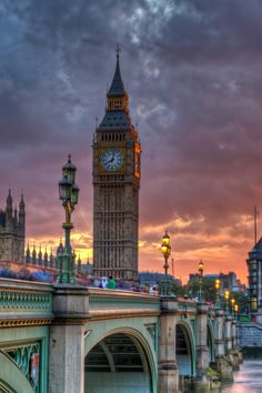 Big Ben with Westminster in the foreground by Chris Muir