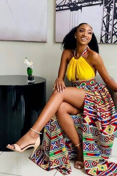 Amazing Ankara Hot Styles Attires For Fresh African Women, We have found amazing Ankara hot styles attires for fresh African women, These include African print clothes like Ankara and dashiki available on Etsy. African Maxi Dresses, African Fashion Ankara, Latest African Fashion Dresses, African Dresses For Women, African Print Fashion, Africa Fashion, African Attire, African Prints, Gowns For Ladies