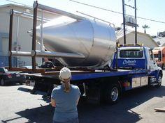Tow truck meets fermenter!