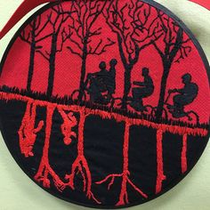 Stranger Things Hoopla and TM Patch - NEEDLEWORK