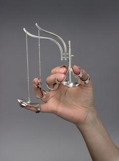 Jennifer Crupi's Unconventional Jewelry Highlights Gesture As Ornament Copper Jewelry, Boho Jewelry, Jewelry Art, Jewelry Accessories, Vintage Jewelry, Fine Jewelry, Handmade Jewelry, Fashion Jewelry, Jewelry Design
