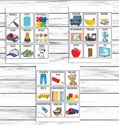 These cute games are great to keep your kiddos busy during these trying times! Great for matching game, busy binder, or scavenger hunts! Preschool Games, Toddler Activities, Indoor Activities For Kids, Family Activities, Scavenger Hunt For Kids, Scavenger Hunt List, Summer Fun List, Summer Bucket, Backyard For Kids
