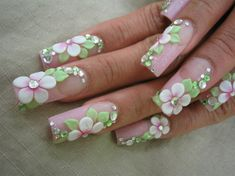 Flower Garden - Nail Art Gallery