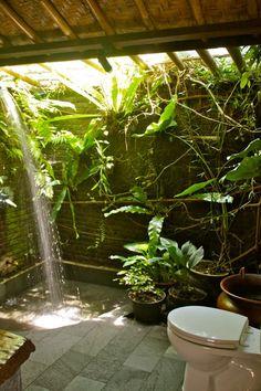 minimalist bathroom minimalist bathroom design gallery - Internal Home Design Outdoor Toilet, Outdoor Baths, Outdoor Bathrooms, Garden Bathroom, Garden Shower, Outside Showers, Outdoor Showers, Rainforest Shower, Minimalist Bathroom Design