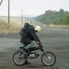 Custom Honda Dax in Japan