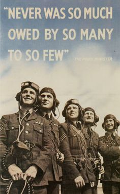 RAF pilots in WWII who helped defend London during the Blitz. Quote by Winston Churchill World History, World War Ii, History Online, Pinup, Ww2 Posters, Historia Universal, The Blitz, Battle Of Britain, British History