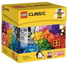 Walmart: LEGO Creative Building Box ONLY $20 w/ Free Store Pick-Up (Contains 580 Pieces) – Hip2Save